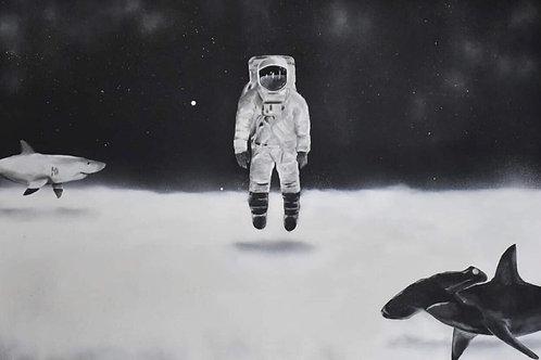 Alto Mar - 80 x 120 cm - por Paulo Agi