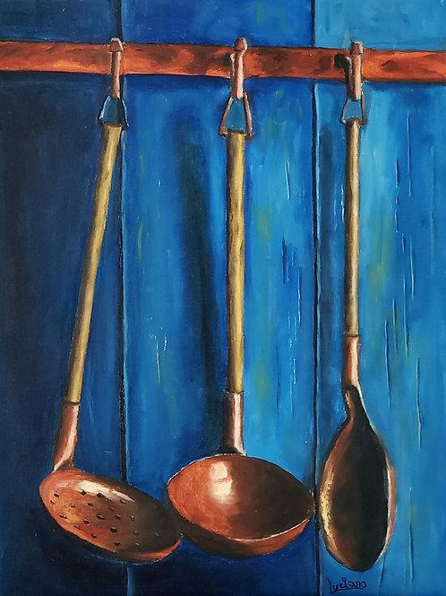 Cozinha Mineira - 40 x 30 cm - por Luciano Costa