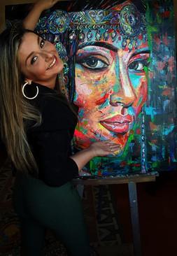 Juliana Lavoura-Yakupta Woman- 100cmx 10