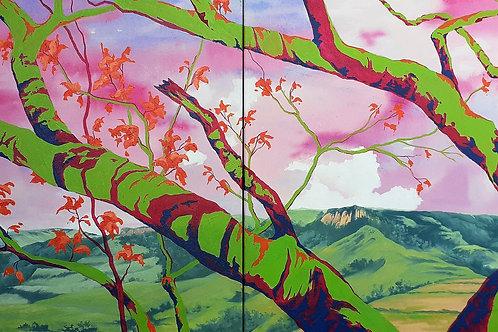 Primavera - 60 x 120 cm - por Diana Chagas