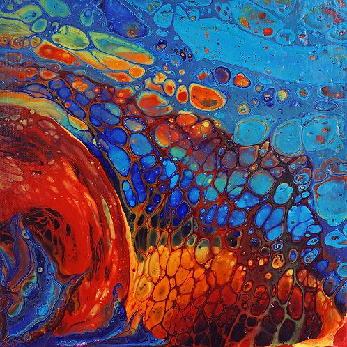 Volcano - 50 x 50 cm - por Patricia PeñaCalle