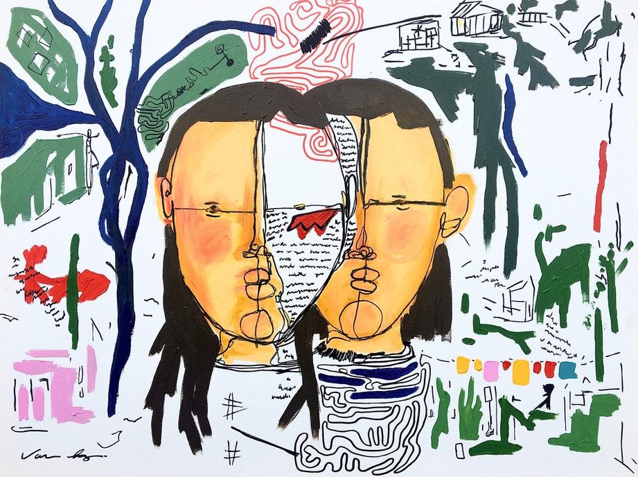 Van Paz-A dualidade-80x60-AST-R$3.550,00