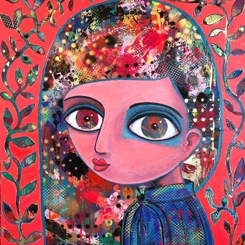 I have found my self - 80 x 70 cm - por Maria Alm