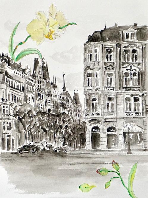 Cartier in Prague - 40 x 30 cm - por Pedro Diniz Kubitschek