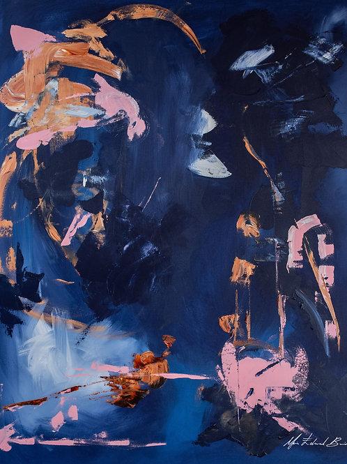 Pra se devorar - 140 x 120 cm - por Maria Eduarda Boabaid