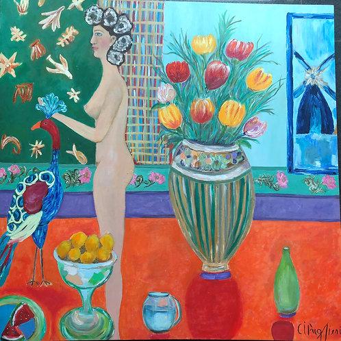 Anagogia 02 - 130 x 130 cm - por Cibele Pugliesi