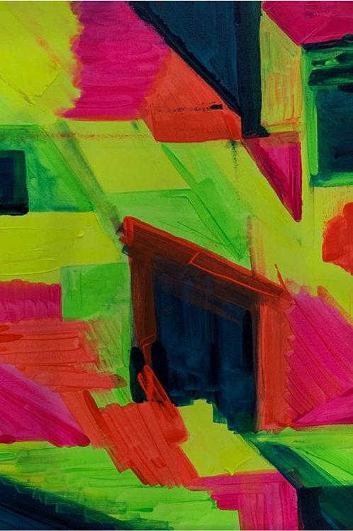Citrus - 80 x 60 cm - por Carol Couri