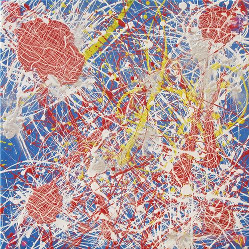 Teia de Aranha - 47 x 47 cm - por Aaron Barrios