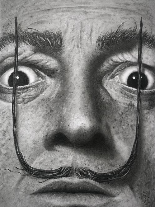 Salvador Dali - 29 x 21 cm - por Giovana Hemb