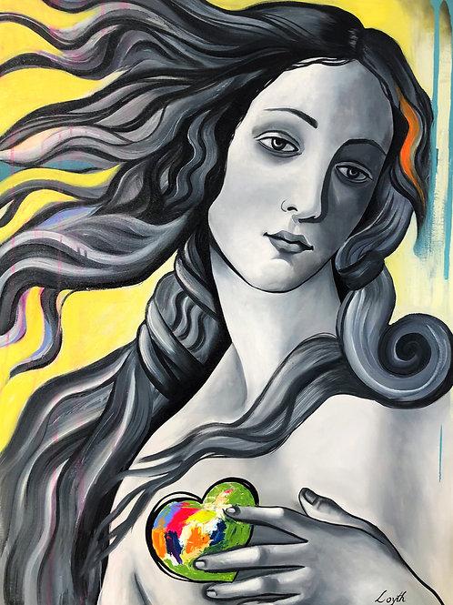 Vênus Love - 120 x 90 cm - por Loyth