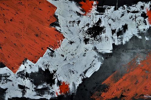 No vale nevado - 80 x 140 cm - por Hilda Siqueira
