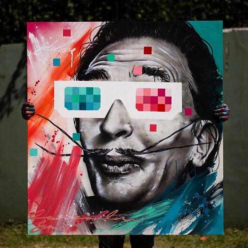 Surreal - 120 x 110 cm - por Deleon