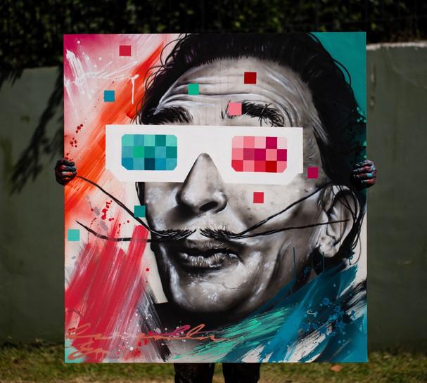 Deleon Ribeiro - Surreal - 1,20x1,10 - A