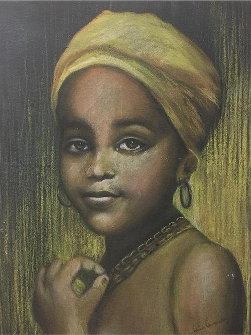 Quilombola - 40 x 30 cm - por Sônia Camacho