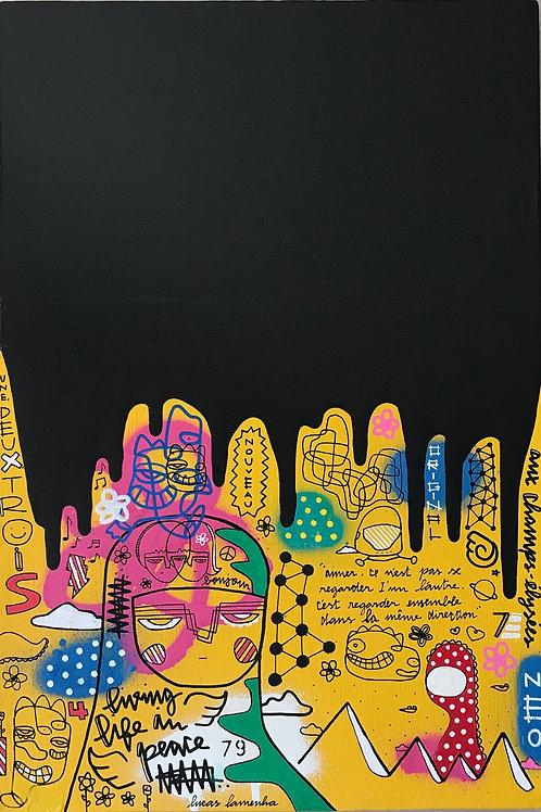""""""" Neo 79 """" - 60 x 40 cm - por Lucas Lamenha"""