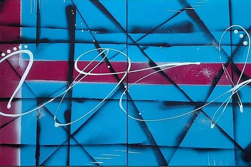 COC - 50 x 100 cm - por Vini Cosmos