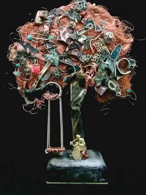Acalanto - série Árvores - 25 x 15 x 21 cm - por Claudia Seber