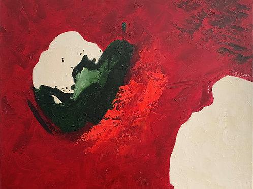 Abstrato - 50 x 60 cm- por Tito Flávio