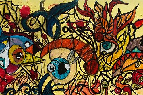 Renascimento - 60 x 121cm - por Victor Muszkat