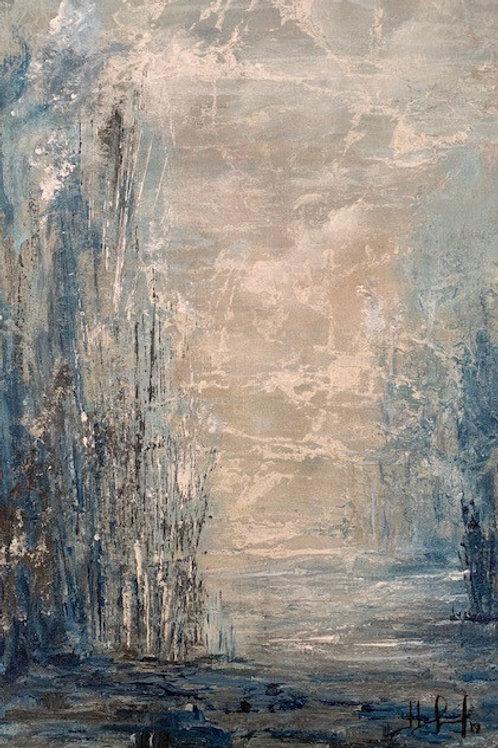 Intensidade - 60 x 40 cm - por Liselena Dalla Corte