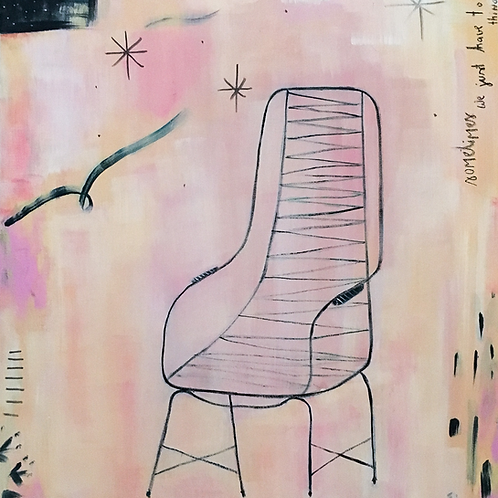 Light Soul freespirit - 70 x 60 cm - por Helô Rincon