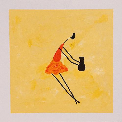 O Artesã - 50 x 50 cm - por Gleison Castro