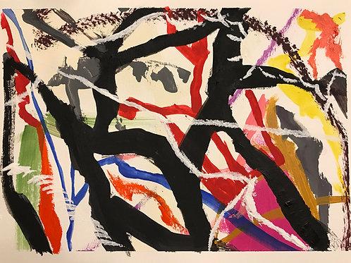 Escondido no fundo - 27,94 x 38,1 cm - por Dave Jones