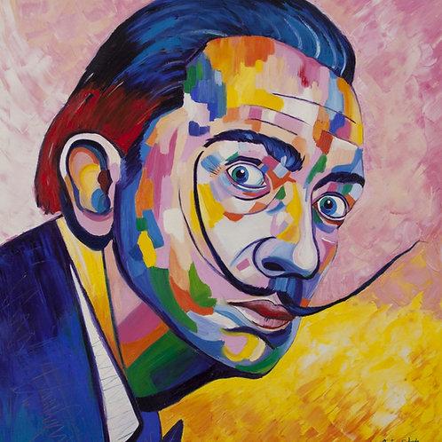 Dali - 80 x 70 cm - Gustavo Salgado