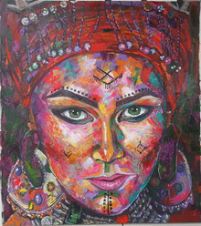 Juliana Lavoura-Moroccan Woman- 100cmx 1