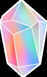 カラフルなダイヤモンド
