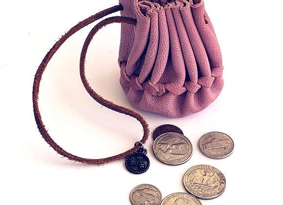 Pink Merchant Coin Pouch