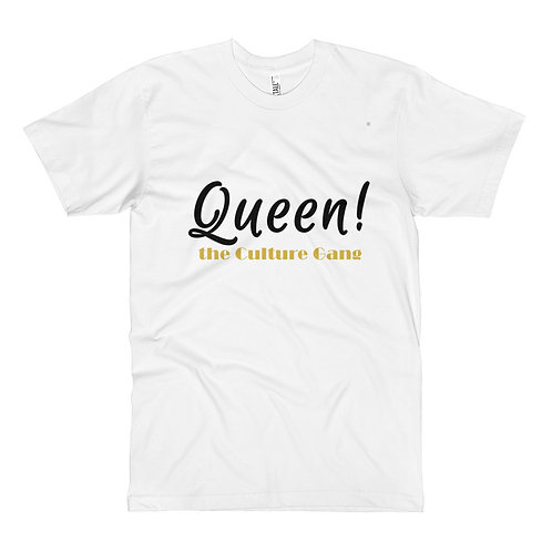 Bad & Bougee 4Real QUEEN CULTURE Long Unisex Fine Jersey Tall T-Shirt for women
