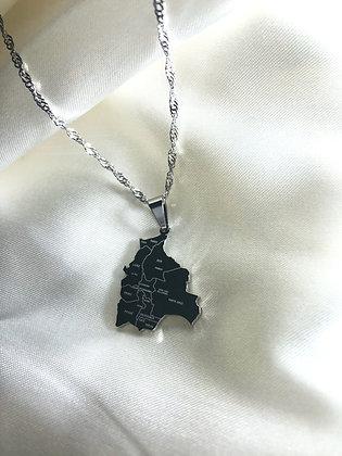 Bolivia Cities Necklace
