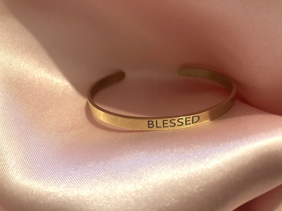 Blessed band (rose gold)
