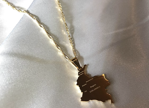 Colombia Cities Necklace