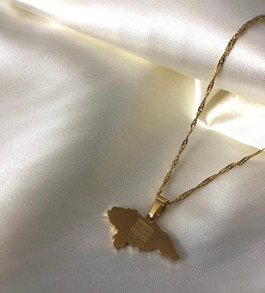 Honduras flag Necklace