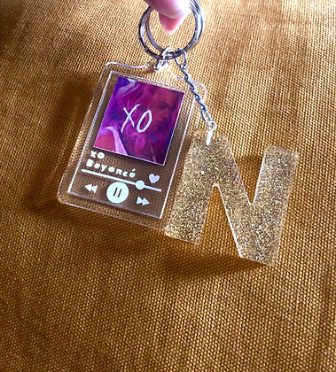 Letter and Customised Keyring