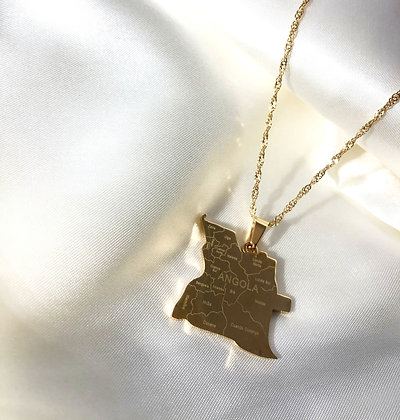 Angola Cities Necklace