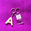 Thumbnail: Letter and Customised Keyring
