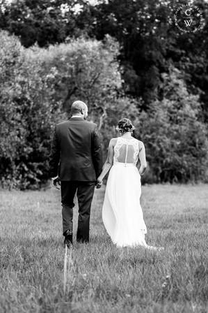 Brautpaar der selbe Weg
