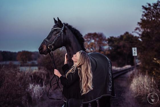 Pferdeshooting, Sunsetshooting