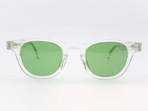 JULIUS TART OPTICAL AR 44-22 col.Clear Crystal/Vintage Green