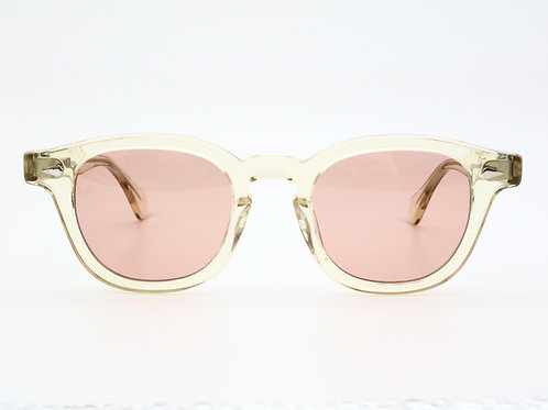 JULIUS TART OPTICAL AR 46-22 col.Champagne/Dark Pink