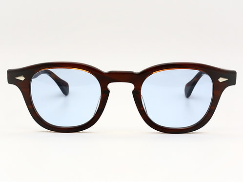 JULIUS TART OPTICAL AR 46-24 col.Demi Amber/Light Blue