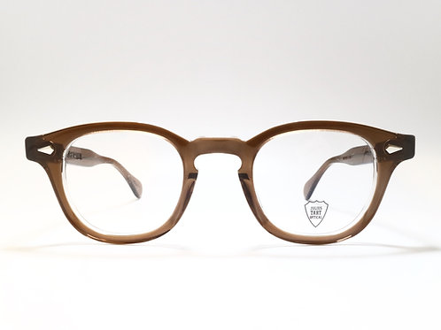 JULIUS TART OPTICAL AR 46-24 col.Brown Crystal Ⅱ
