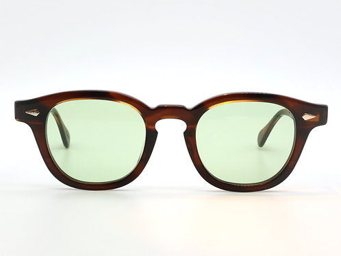 JULIUS TART OPTICAL AR 46-22 col.Demi Amber/Light Green 3curve