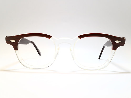 TART OPTICAL(VINTAGE) ARNEL 44-20 col.RED WOOD C.B