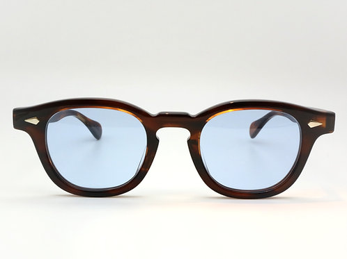 JULIUS TART OPTICAL AR 44-22 col.Demi Amber/Light Blue 3curve