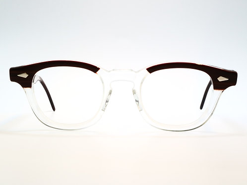TART OPTICAL(VINTAGE) ARNEL 44-22 col.RED WOOD C.B