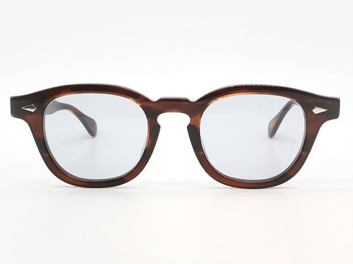 JULIUS TART OPTICAL AR 46-22 col.Demi Amber/Light Grey 3curve